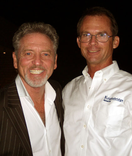 Thomas Buder and Larry Gatlin
