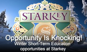Winter Short-Term Education opportunities at Starkey